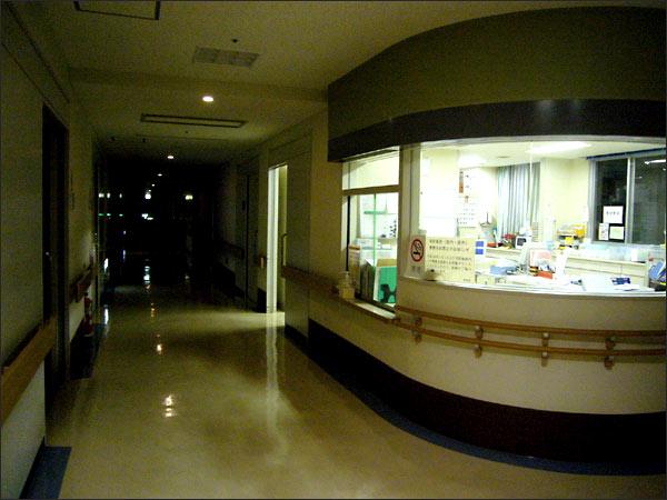 夜の病棟散歩にご注意を<大動脈解離回顧録⑨>